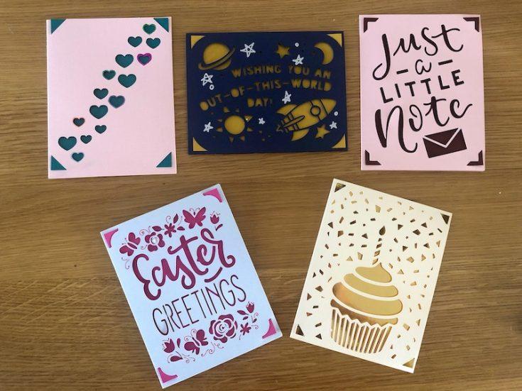 cricut joy handmade cards