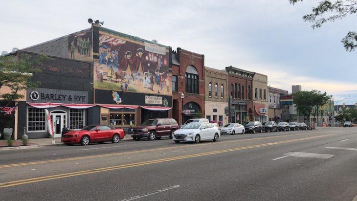 downtown ludington