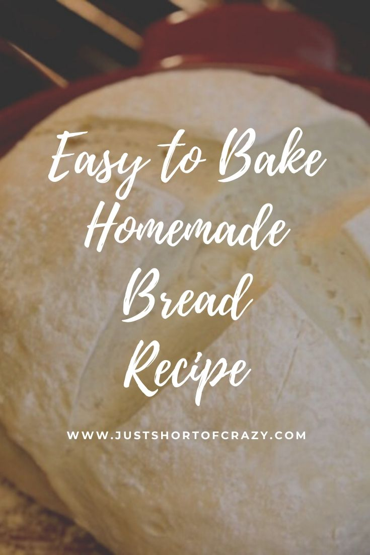 easy to bake homemade bread