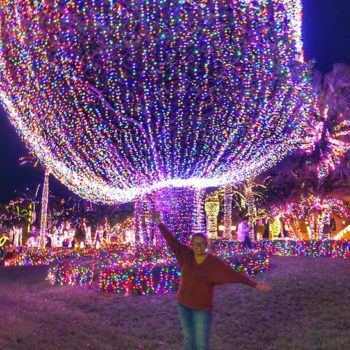 Jensen Beach Mansion Christmas Lights 3