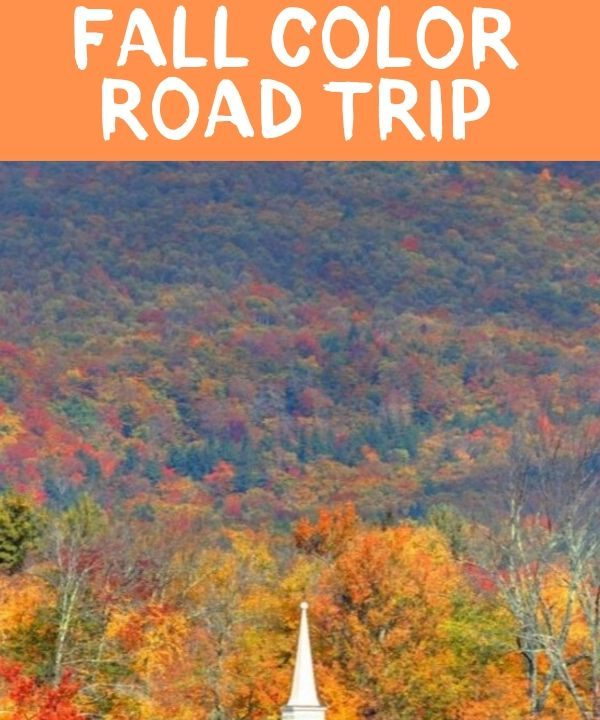 fall color road trip