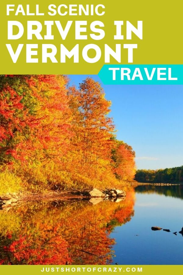 fall scenic drives vermont