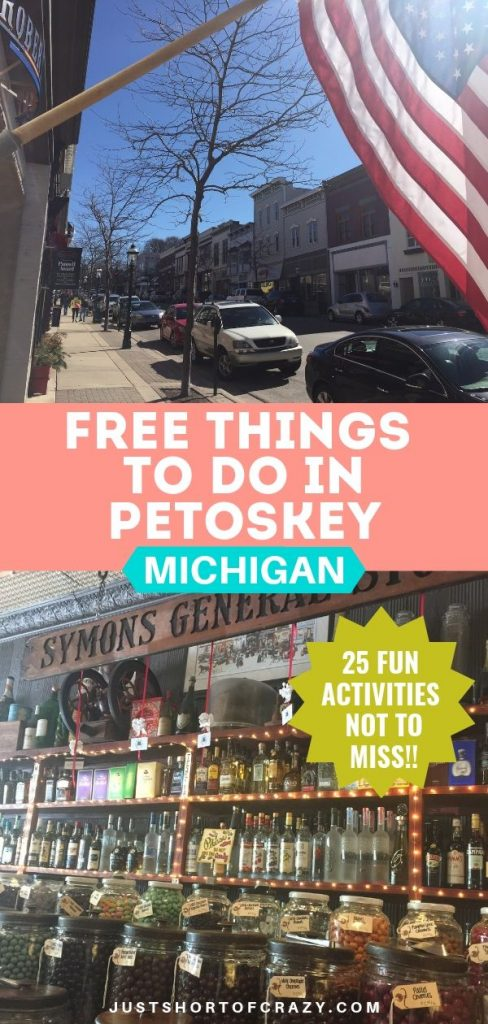 free things to do in petoskey