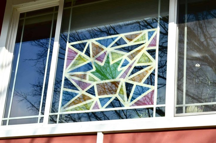 How to Paint Stained Glass Windows at Home