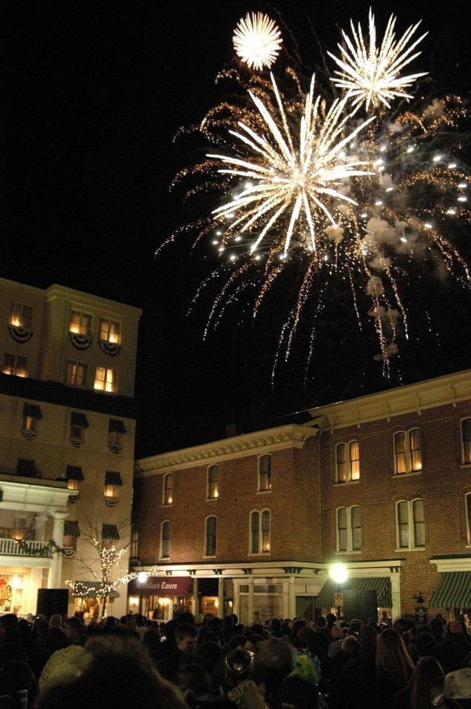 new year celebration in gettysburg