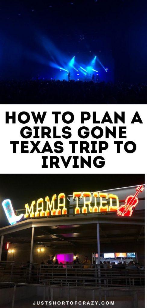 irving texas pin