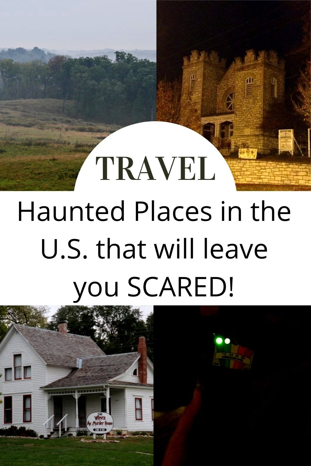 haunted places in the U.S.