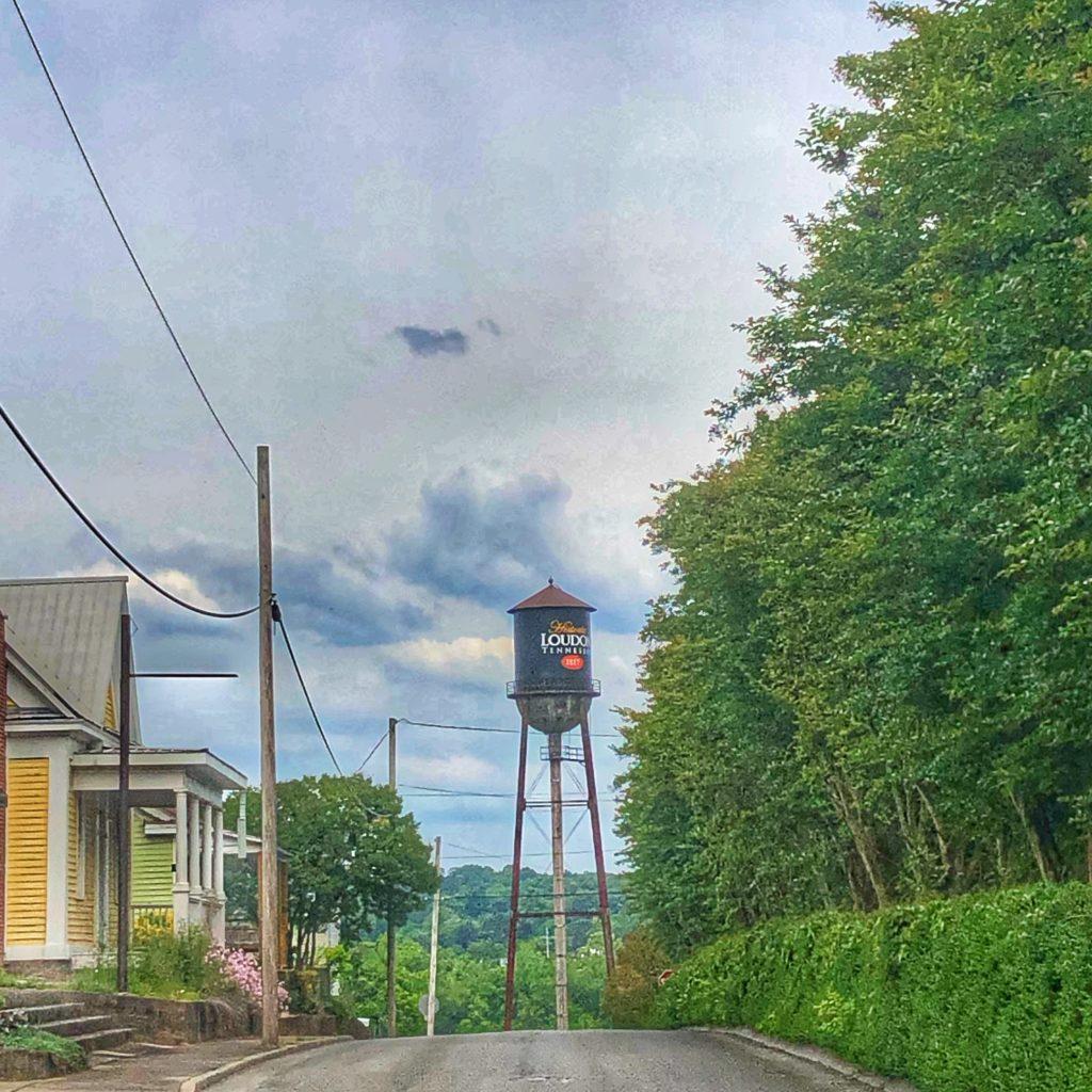Historic loudon tn water tower