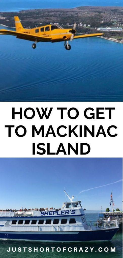 how to get to mackinac island