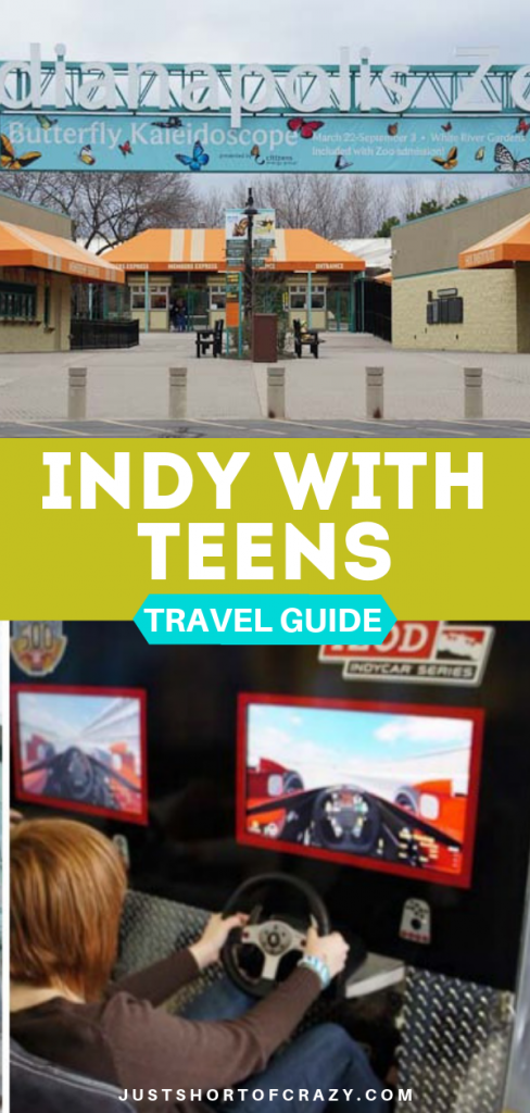 indy with teens travel guide