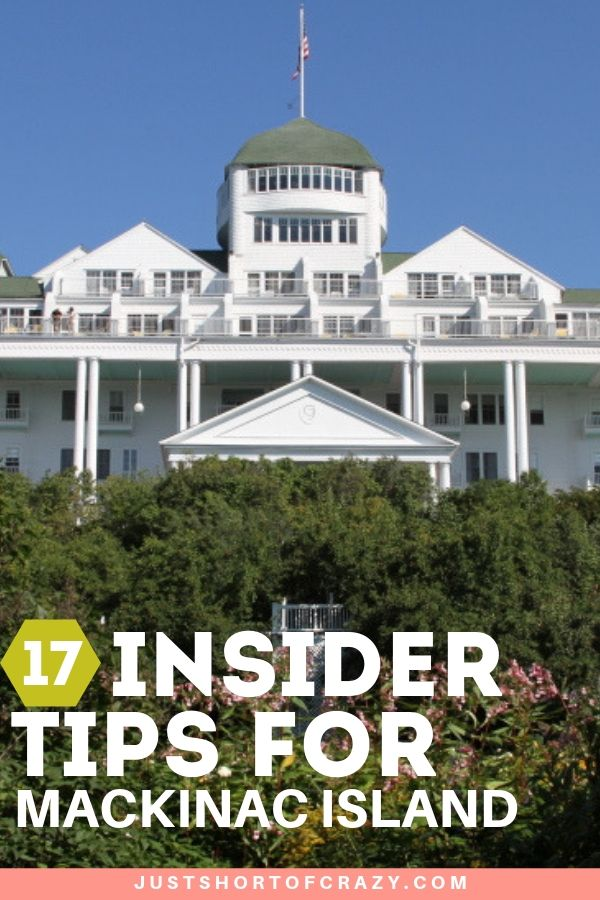 insider tips for mackinac island