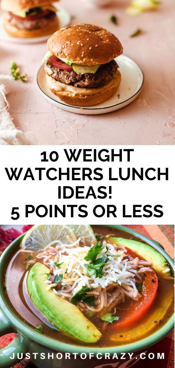 ww lunch ideas pin