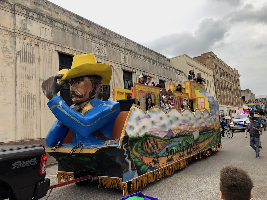 mardi gras beaumont texas float day