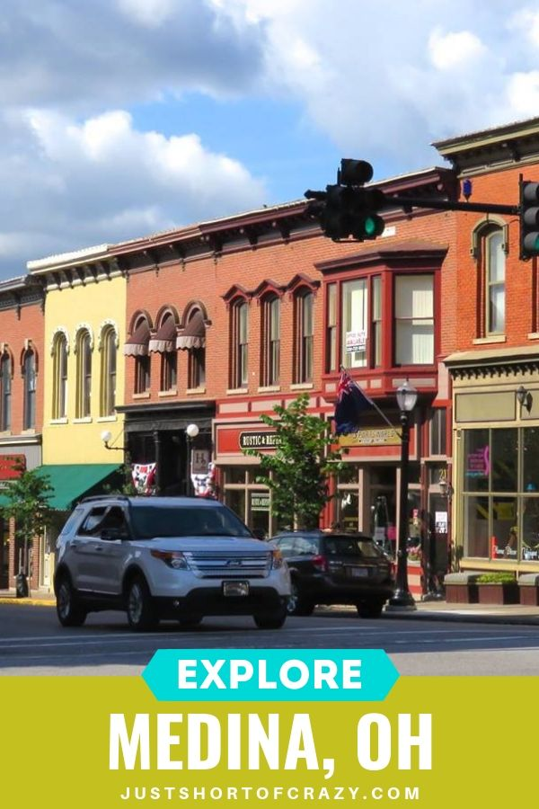 what to do in medina oh