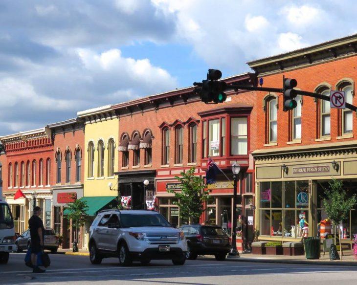 Downtown Medina Ohio