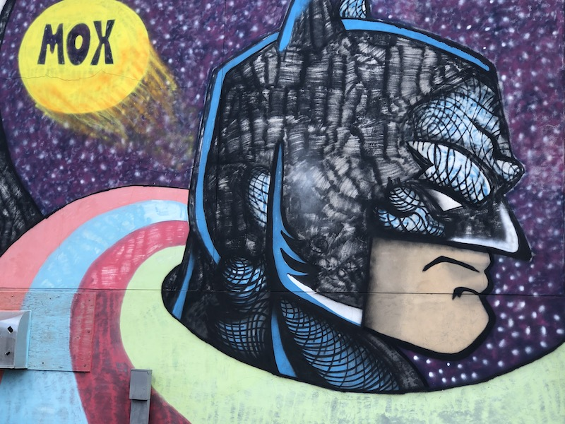 Batman Mural Minot