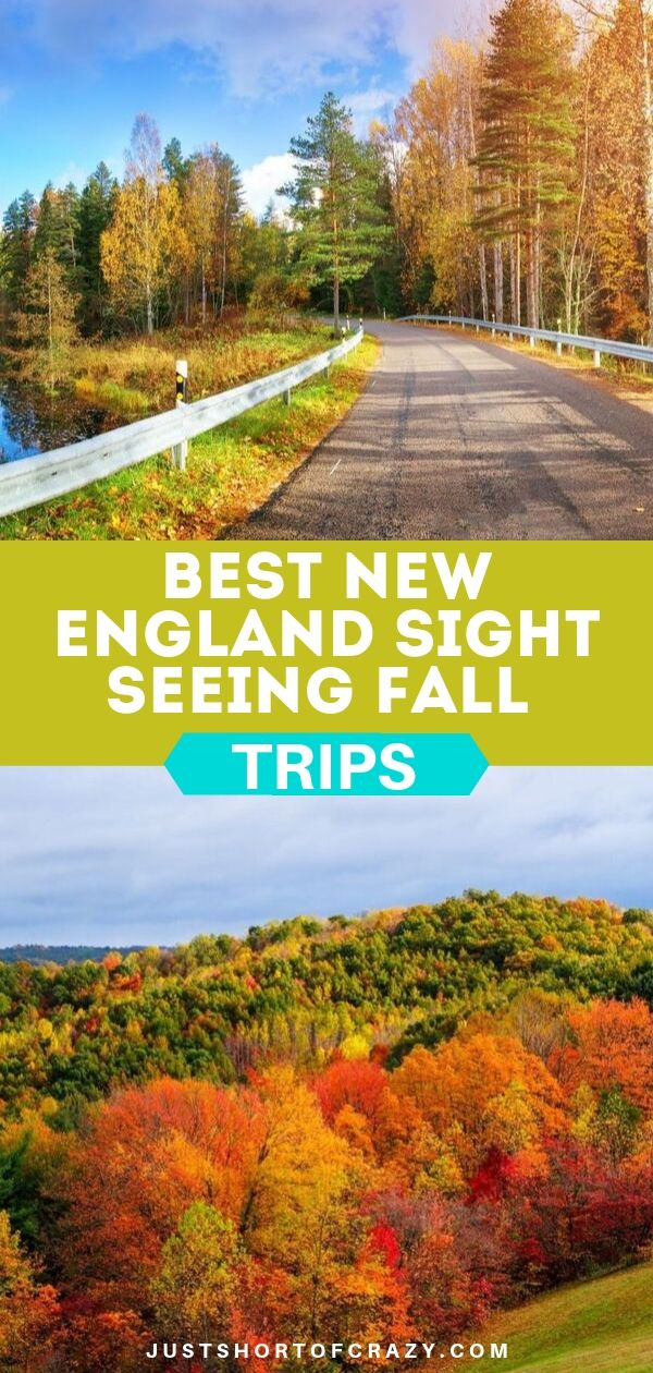 new England fall trips