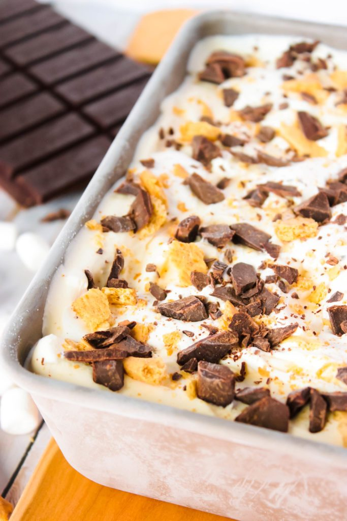 no-churn-smores-ice-cream