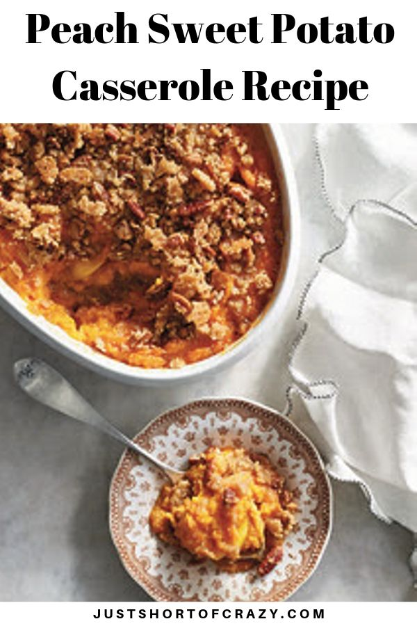 peach sweet potato casserole