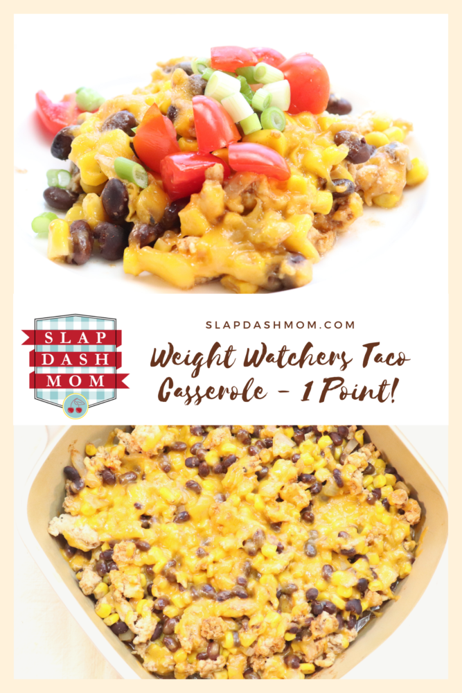 Weight Watchers Friendly Taco Casserole Recipe – 1 Smart Point FREESTYLE