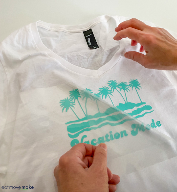 Make a Vacation Mode Tshirt – Getting Started with the Cricut Easy Press 2