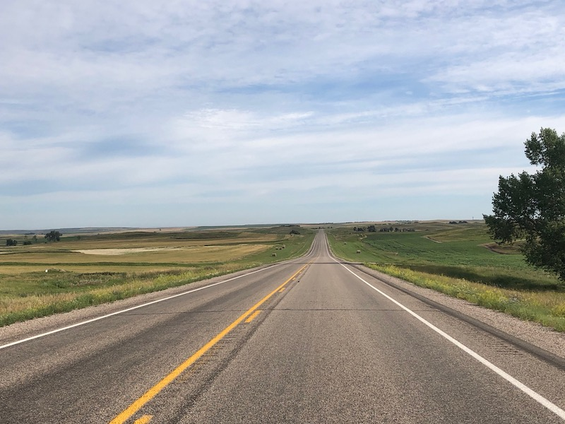 road to wide open spaces