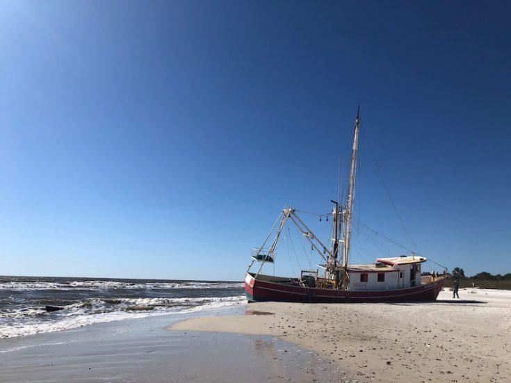 donna kay shipwreck on cape san blas