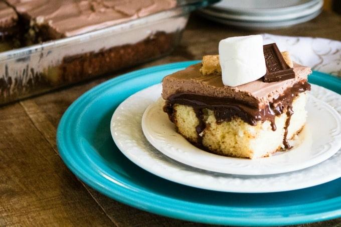 smores-poke-cake