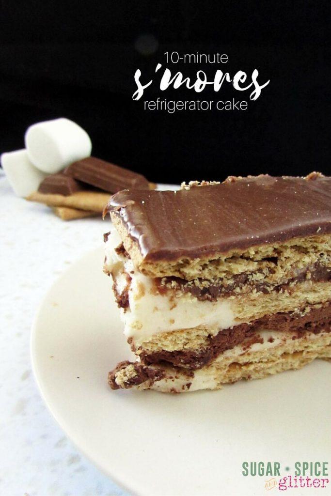 smores-refrigerator-cake