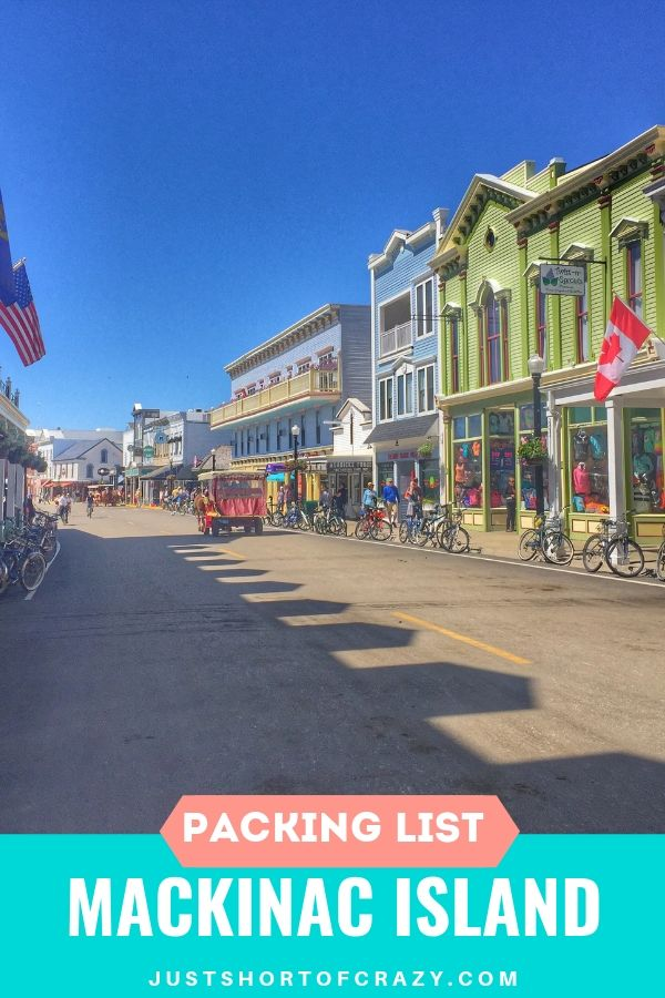 what to pack for mackinac island
