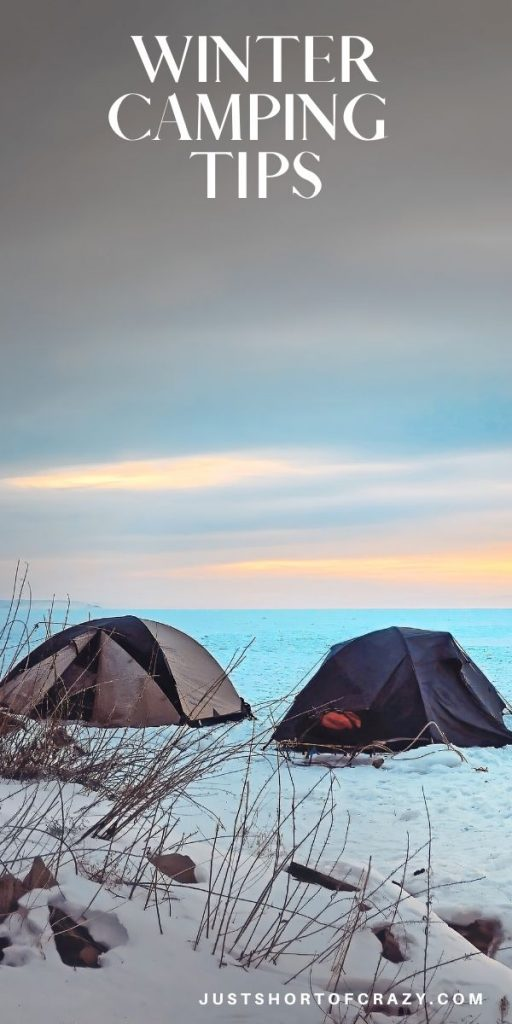 winter camping trips