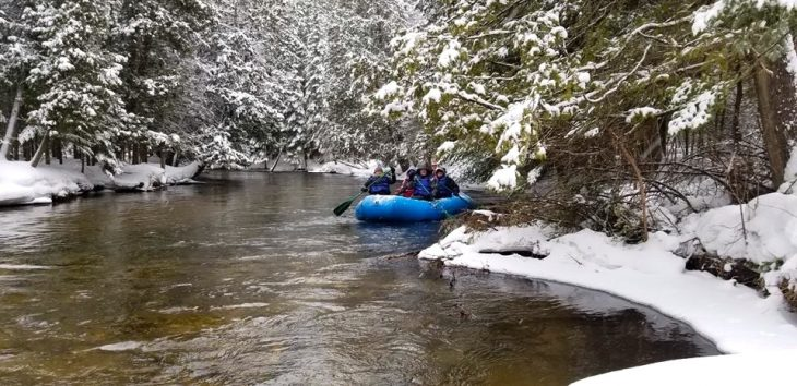 Winter Rafting