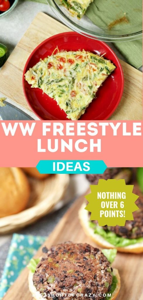 ww Freestyle lunch ideas